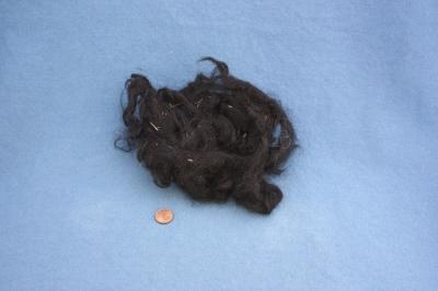 Roux du Valais wool, washed