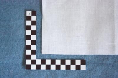 linen fabric, 16 threads per cm