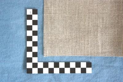 unbleached linen fabric, 8 threads/cm