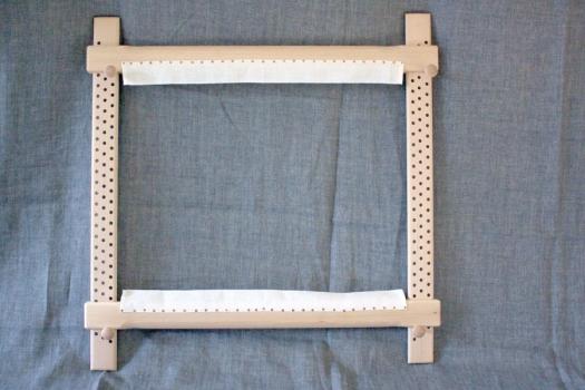 Rahmen mit band/fully furnished frame